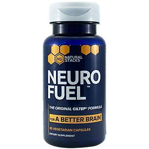 Natural Stacks Neuro Fuel for A Better Brain CILTEP Formula (45 Vegetarian Capsules)