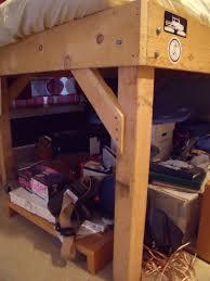 diy 4x4 bunk beds make your own loft bed bodacious bunk beds
