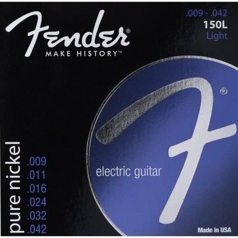 Fender 150L Original Pure Nickel Electric Guitar String - 6 Strings