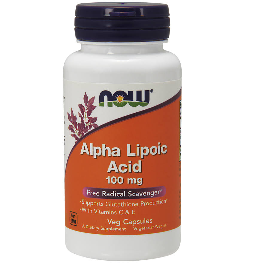 Now Foods Alpha Lipoic Acid Supplement - 120 Vcaps