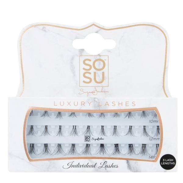 SOSU by Suzanne Jackson Individual 3D Luxury Fibre Lashes