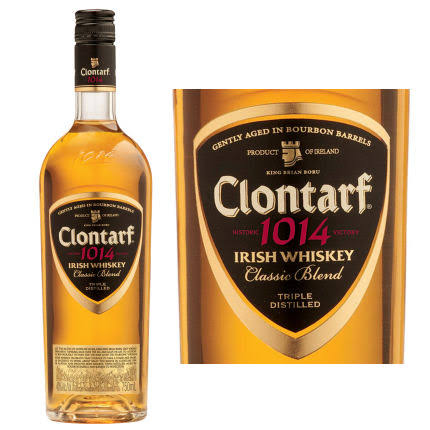 Clontarf 1014 Classic Blend Irish Whiskey