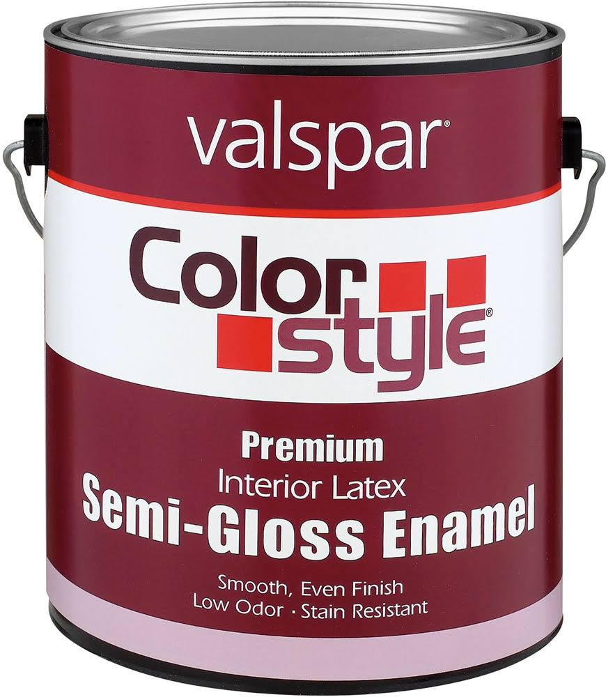 Valspar 44-26205 GL 1 Gallon Pastel Base Interior Latex Semi Gloss Enamel Paint