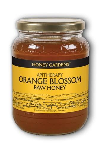 Honey Gardens Raw Honey - Orange Blossom, 1lb
