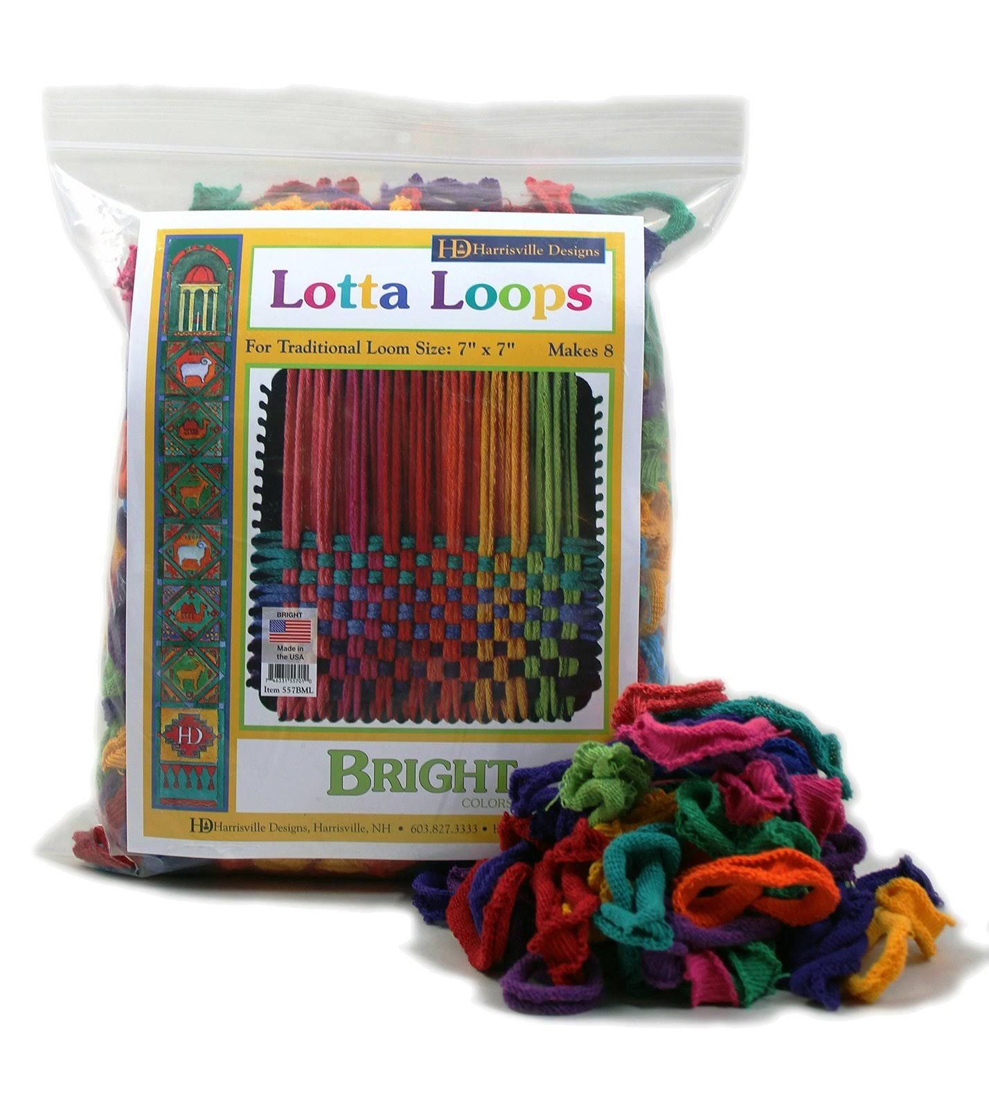 Harrisville Designs a-Lotta Loops Loom Bands
