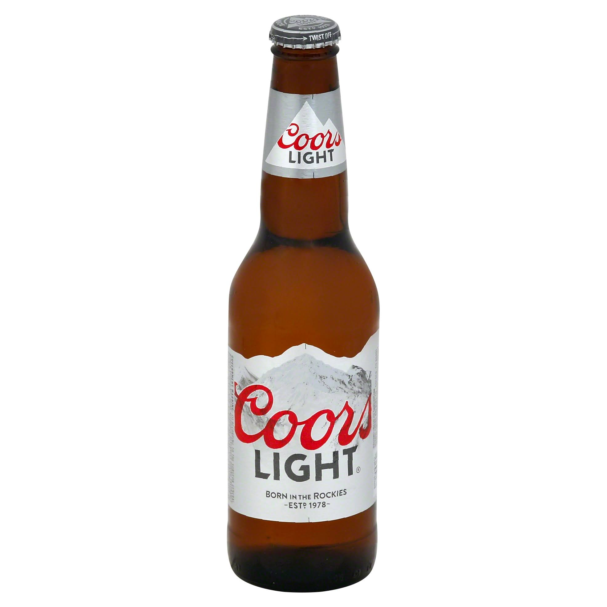Coors Light Beer - 12 fl oz