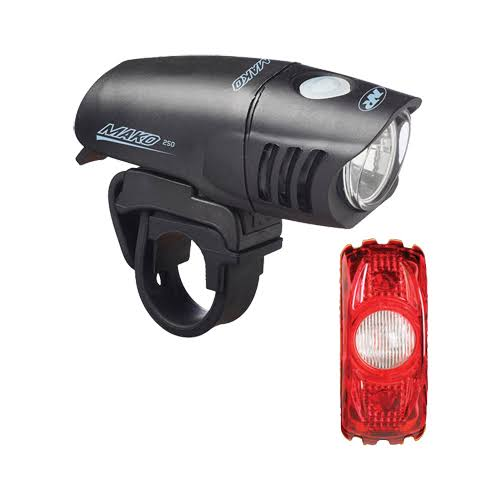 NiteRider Mako 250 / Cherrybomb 35 Combo Light Set
