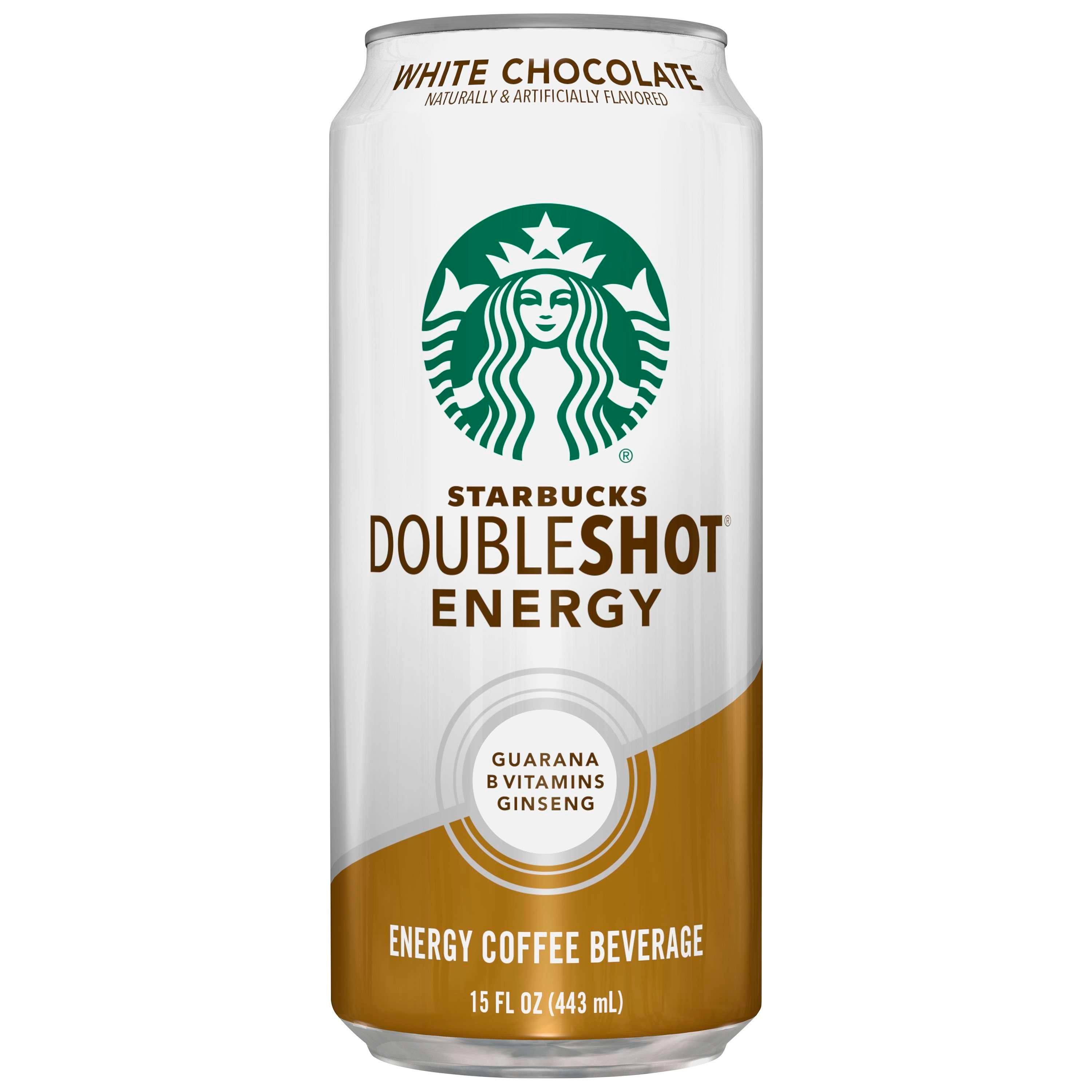 Starbucks Doubleshot Energy White Chocolate - 18x15oz