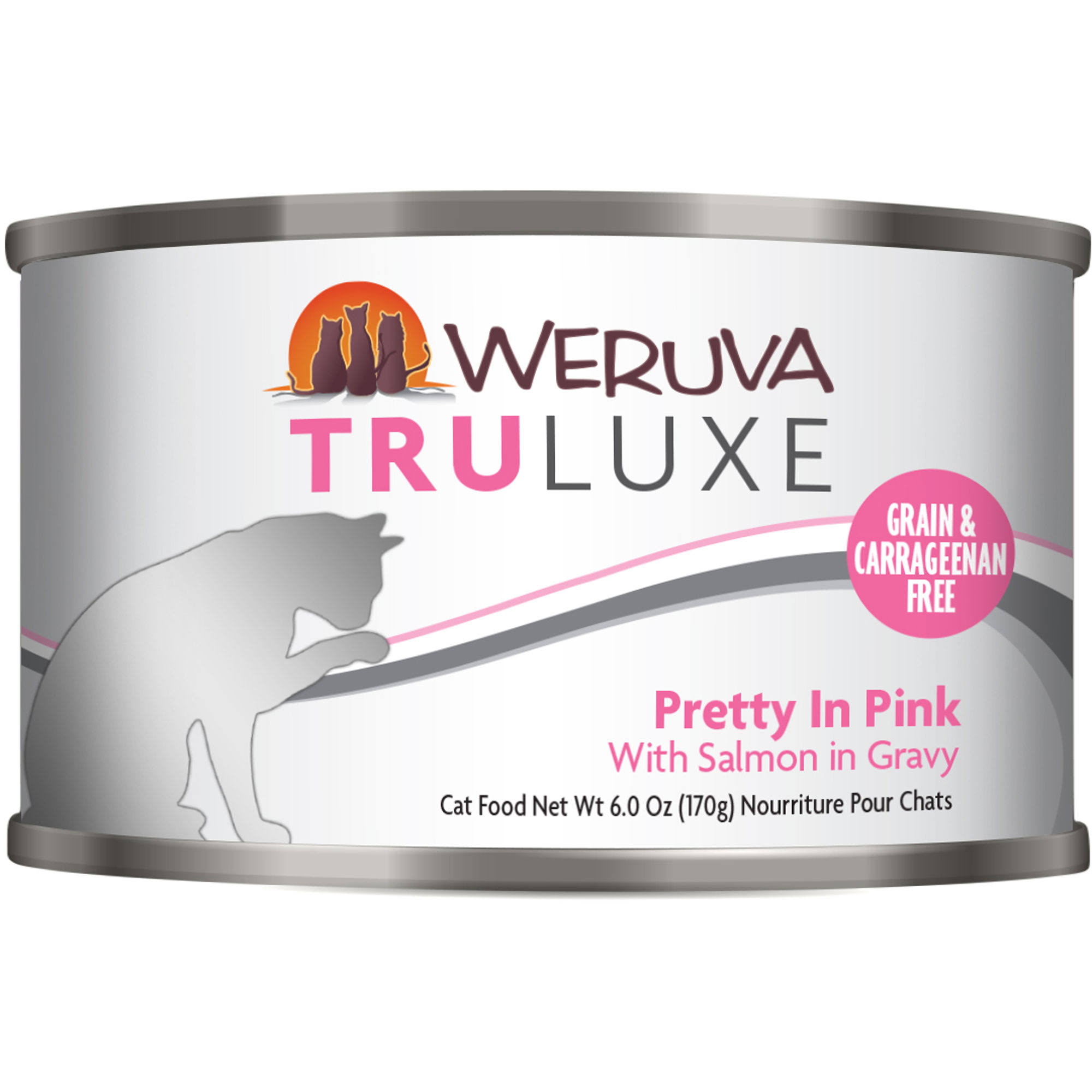 Weruva TruLuxe Cat Food - Pretty In Pink With Salmon In Gravy
