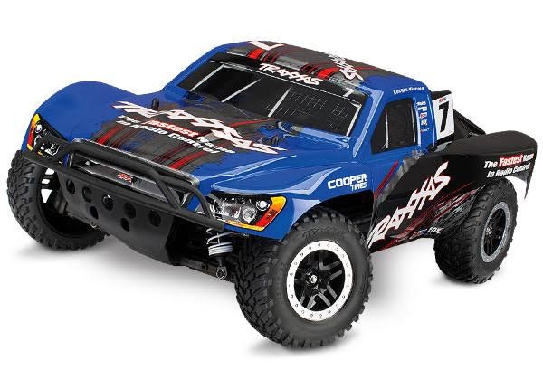 Traxxas Slash 4wd Short Course Truck - 1/10 Scale, Blue