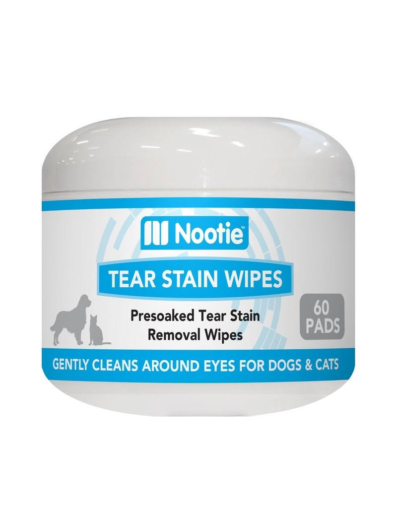 Nootie Dog 64102262 Wipe Tear Stain Aloe 60 Count
