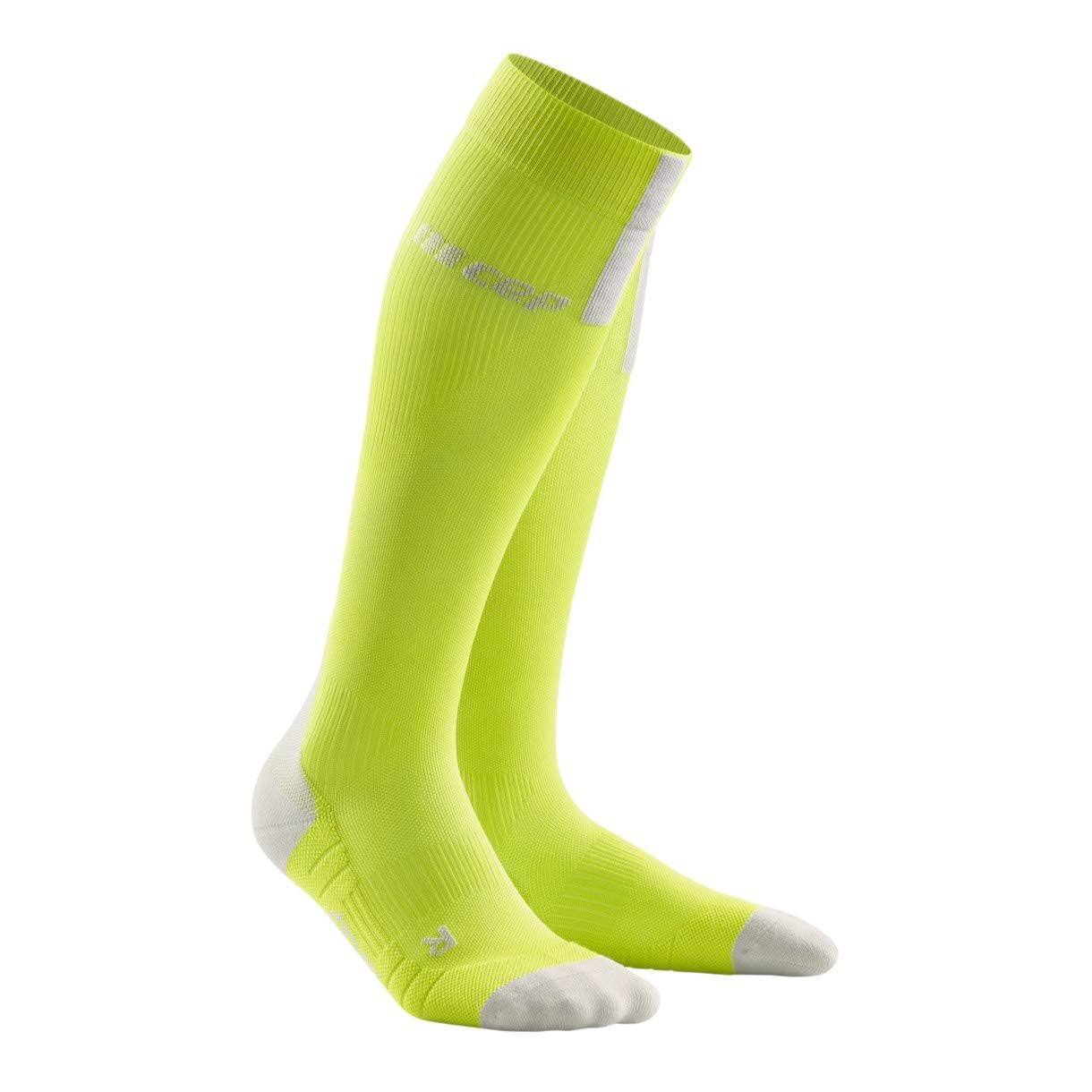 CEP Women's Run Compression Socks - Yellow