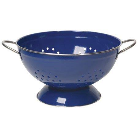 Now Designs Stainless Steel Colander - 3qt, Blue