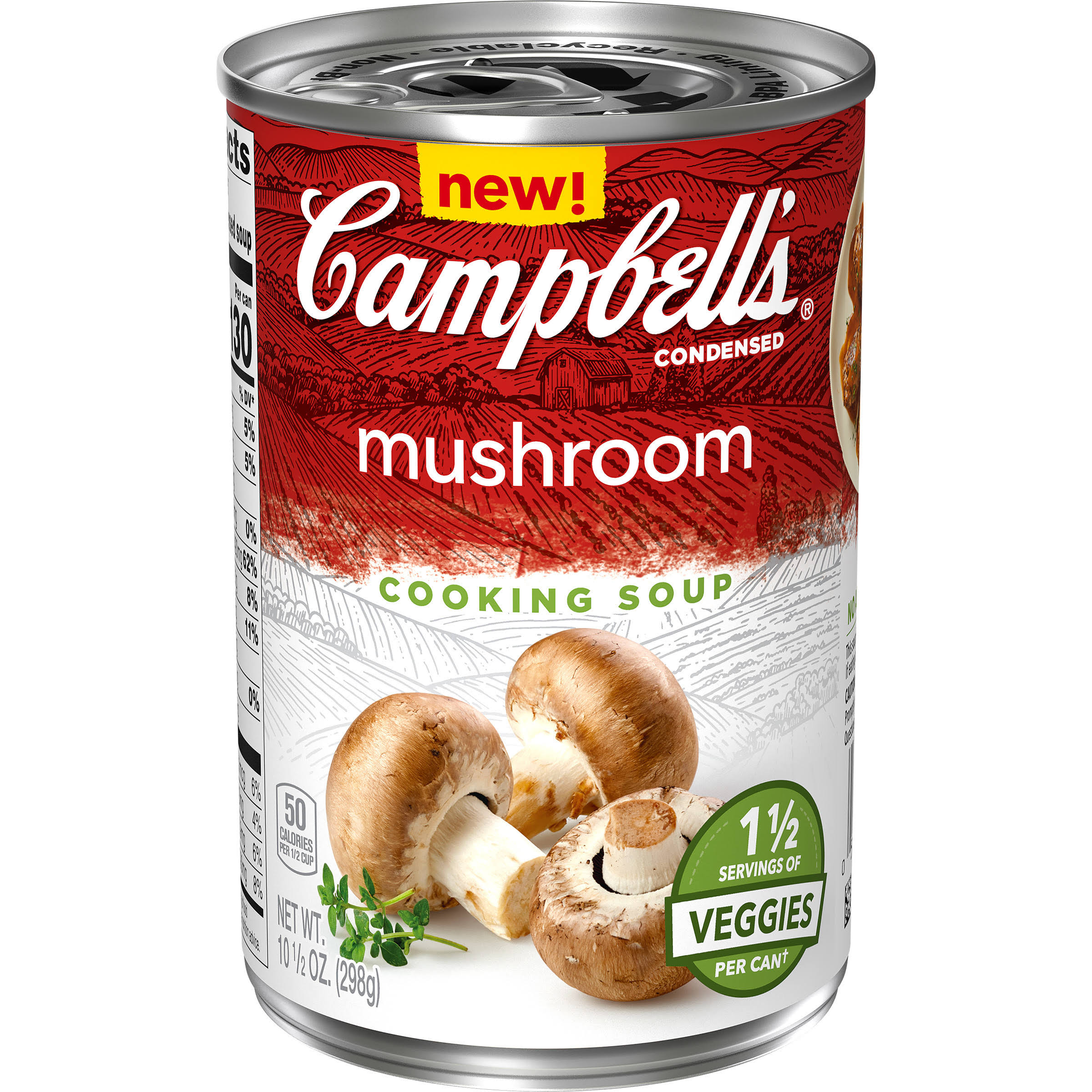 Campbell's Vegetable Condensed Cooking Mushroom Soup - 10.5oz