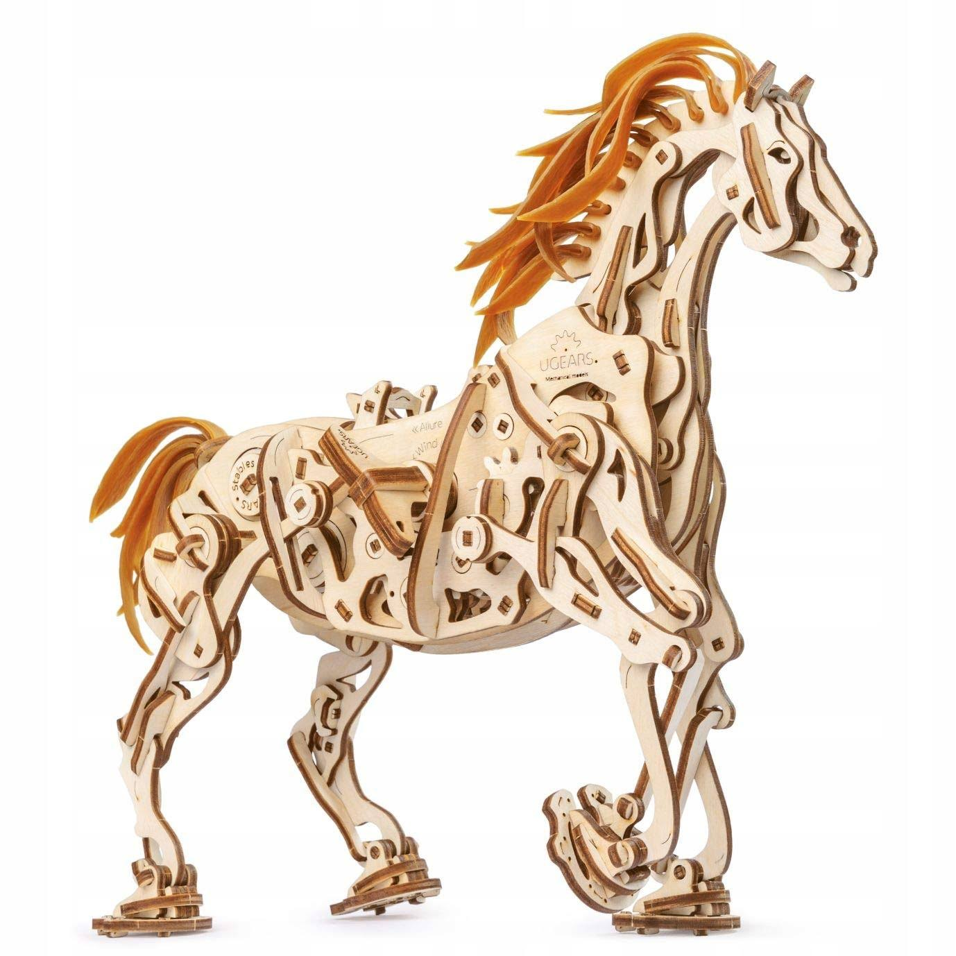UGears Horse-Mechanoid Wooden 3D Model Kit