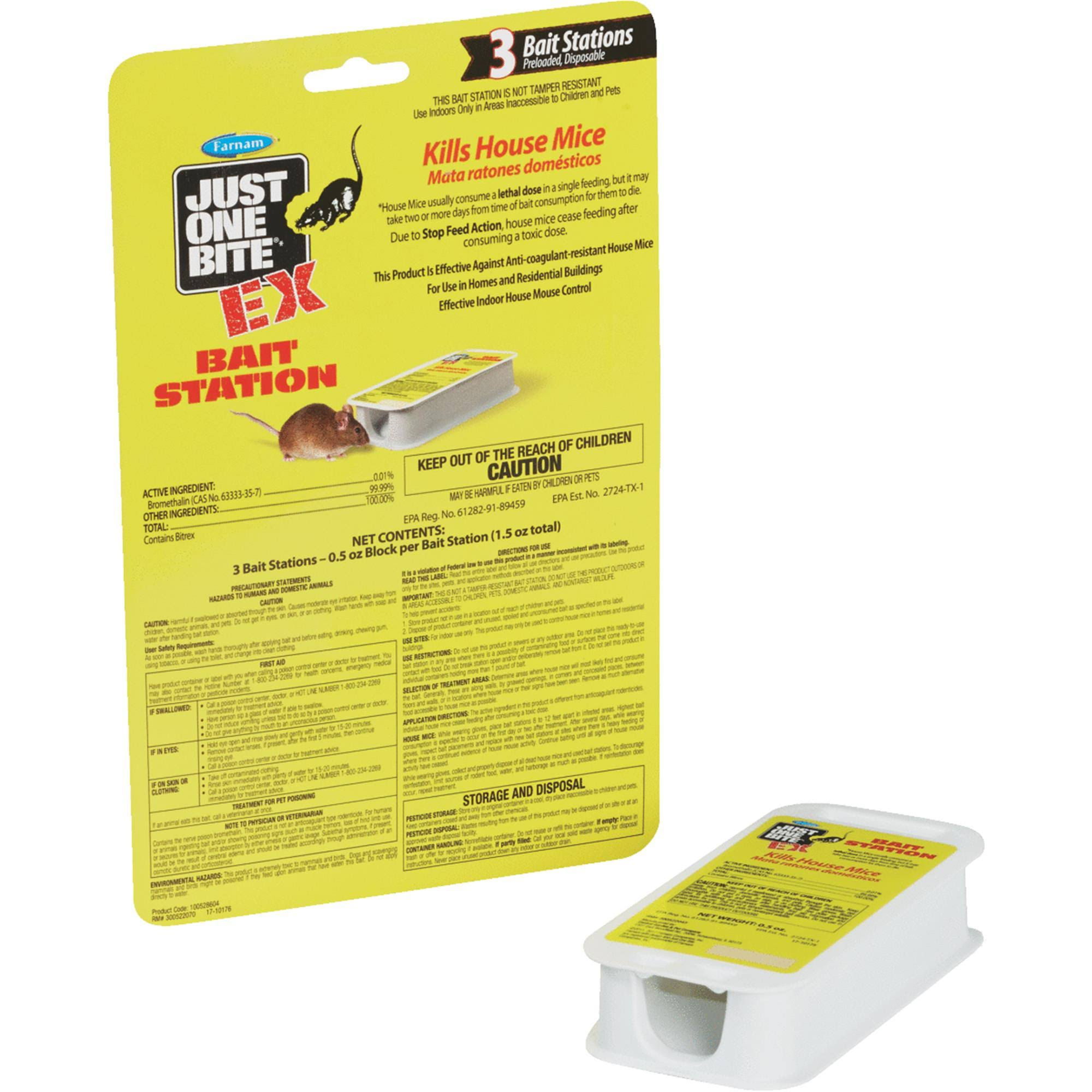 Just One Bite Disposable Mouse Bait Station
