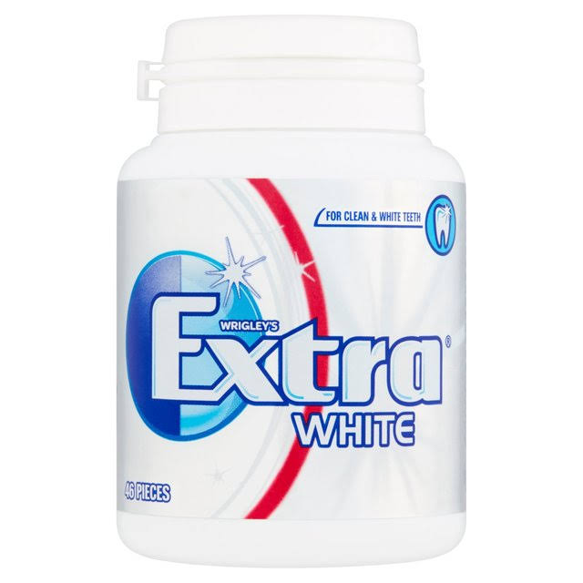 Wrigley's Extra White Chewing Gum - 46pcs