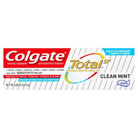 Colgate Total SF Clean Mint Toothpaste - 0.88oz