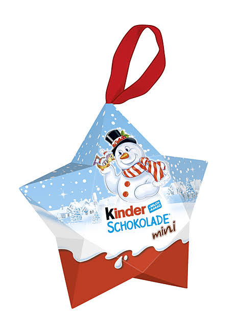 Kinder Chocolate Hanging Star 42G