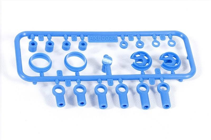 Axial Tree 2 Shock Parts - Blue, 10mm
