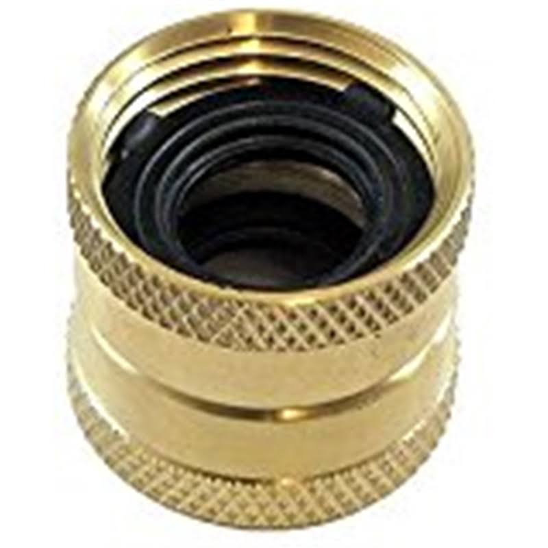 "Ace Hose Repair and Parts Brass Coupler - 3/4"" x 3/4"""