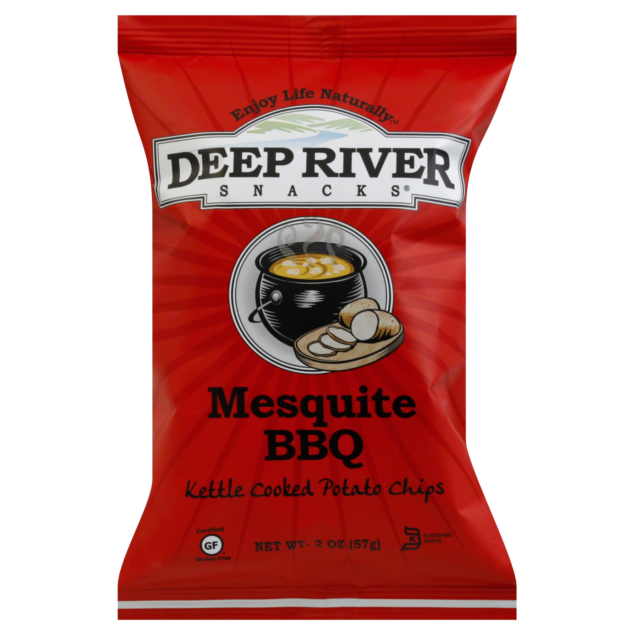 Deep River Chips Snack - Mesquite BBQ