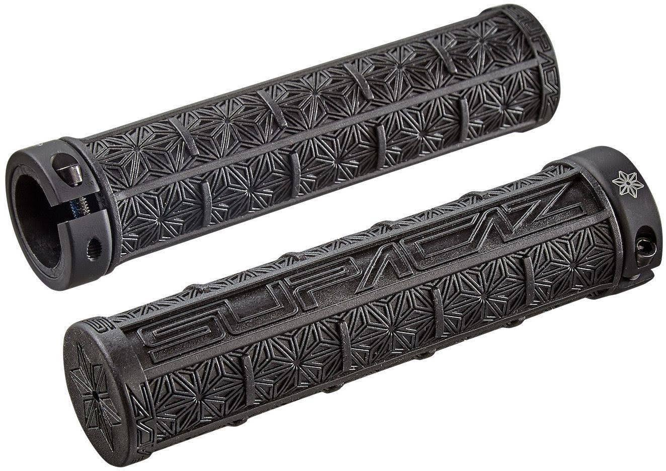 Supacaz Grizips Lock-On Grips - Black, 32mm