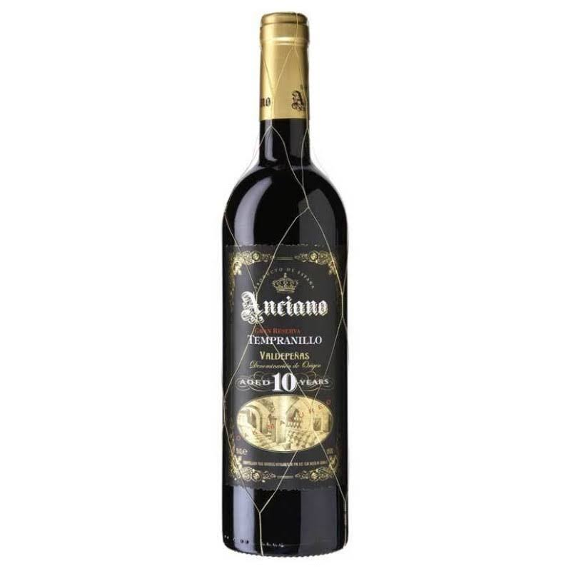 Anciano Tempranillo Gran Reserva - 750ml