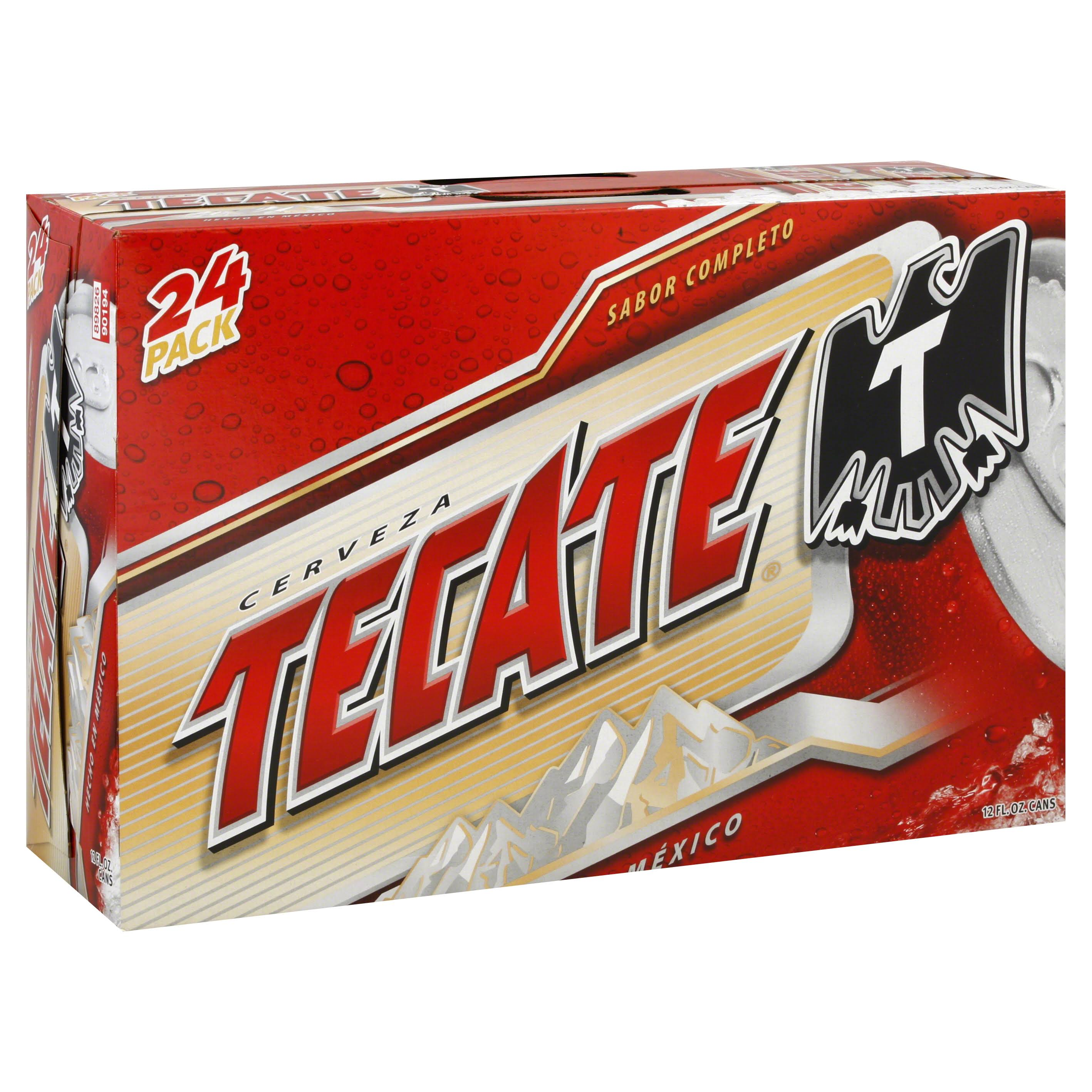 Tecate Mexican Beer - 24ct