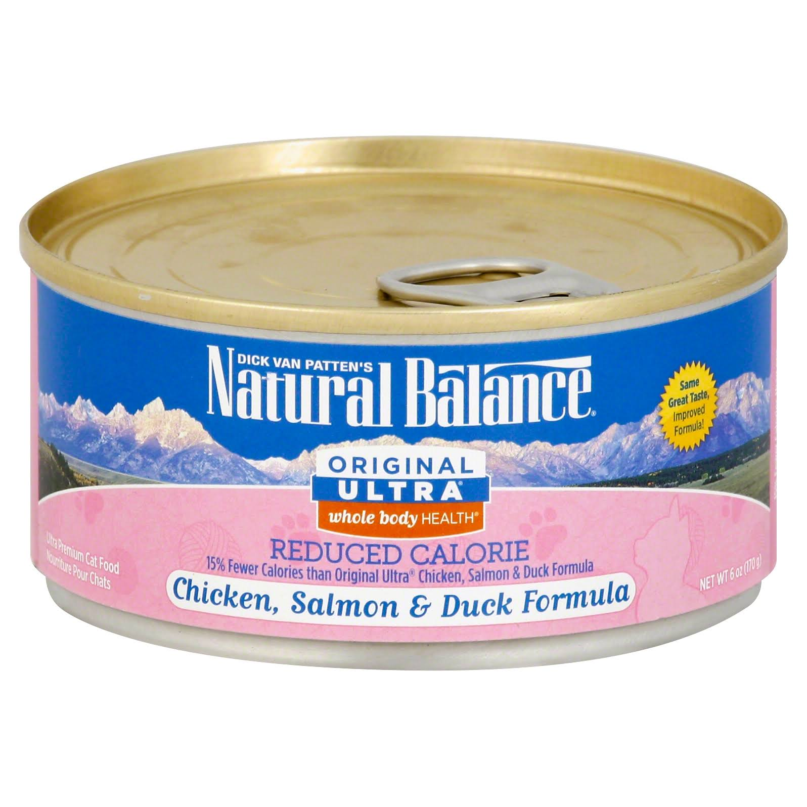 Natural Balance Original Ultra Reduced Calorie Cat Food - 6oz