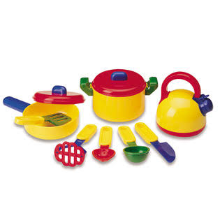 Learning Resources Pretend and Play Cooking Set - 10pcs