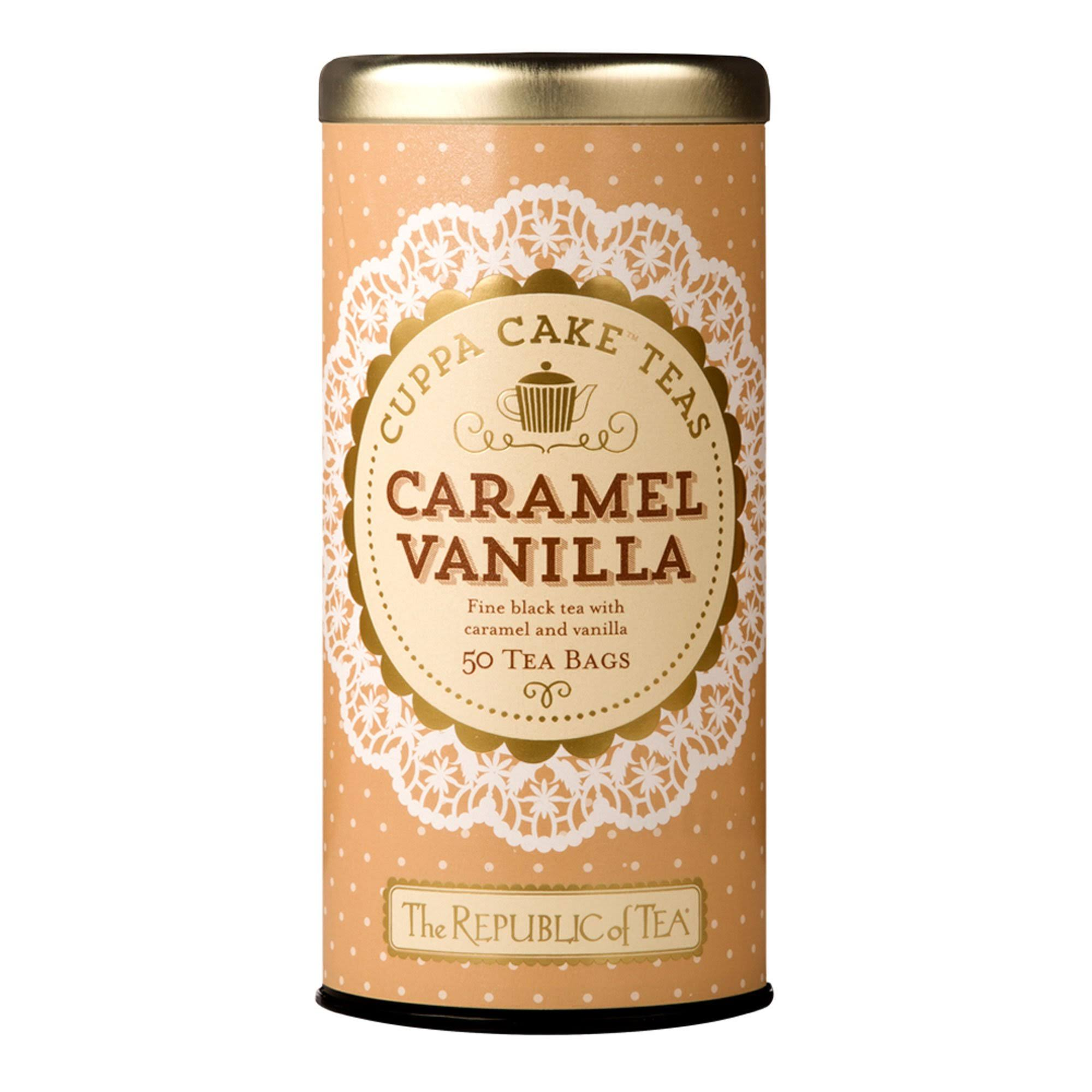 The Republic of Tea Cuppa Cake Tea - Caramel Vanilla, 50ct