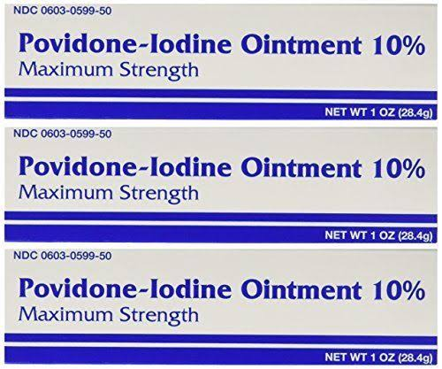 Major Pharmaceuticals Povidine Iodine First Aid Ointment