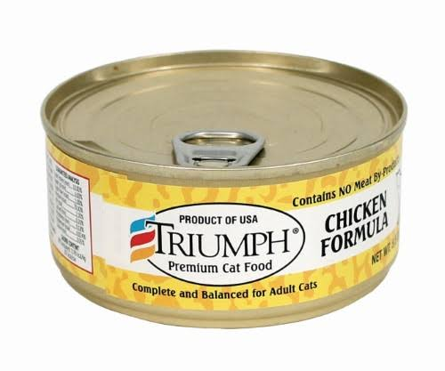 Triumph 5.5oz Chicken Cat Food