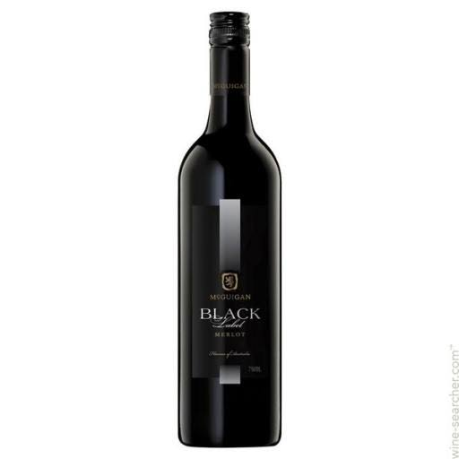 McGuigan Black Label Merlot - 750ml