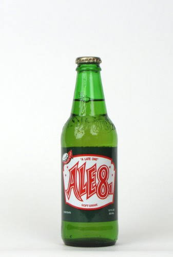 Ale 8 One Soda - 12 fl oz bottle