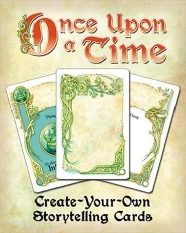 Atlas Games Once Upon A Time Create-Your-Own Storytelling Cards