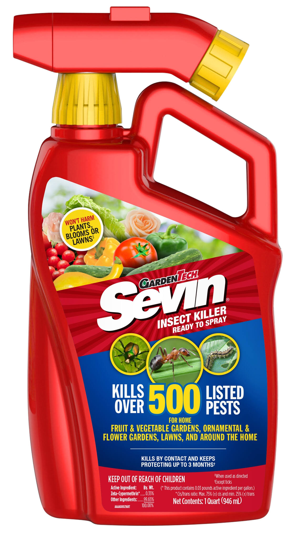 Sevin Ready-To-Spray Outdoor Insect Killer