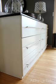 Ikea Tarva 6 Drawer Dresser by Ikea Tarva Transformed Into A Kitchen Sideboard All Things G U0026d