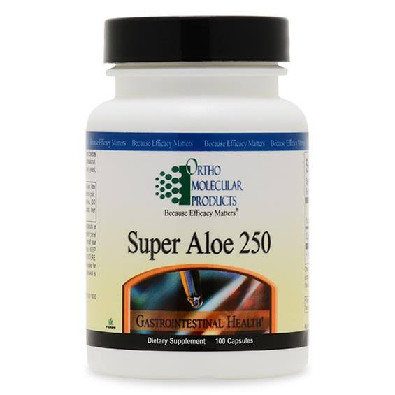 Ortho Molecular Super Aloe 250 Dietary Supplement - 100ct