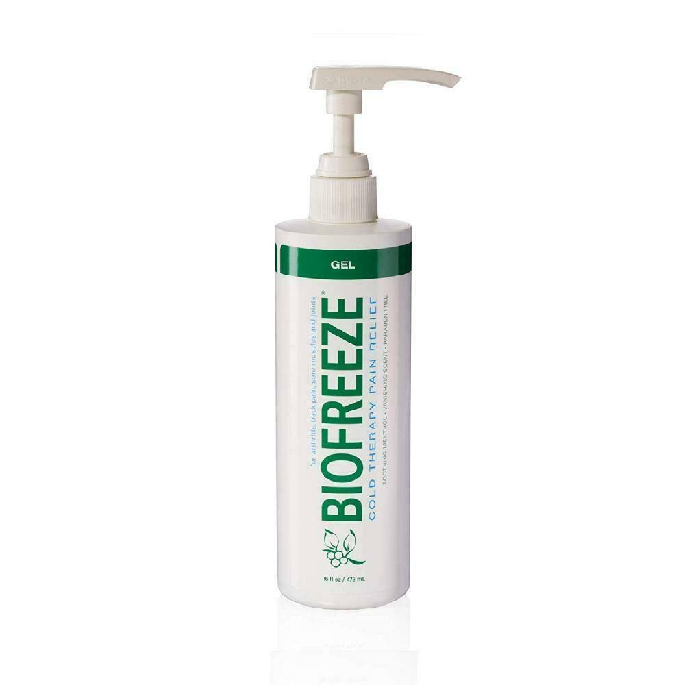Biofreeze Gel 16-Ounce, Pump Bottle