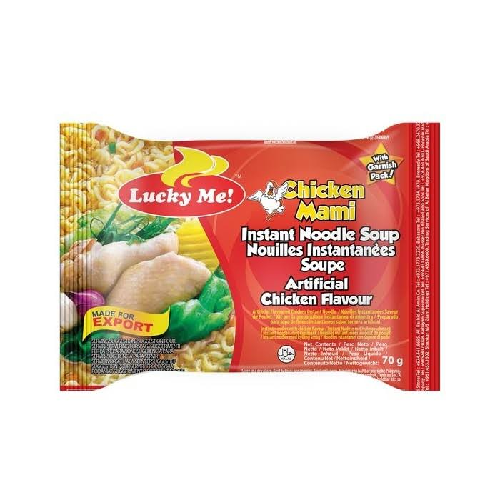 Lucky Me Instant Noodles - Chicken, 70g