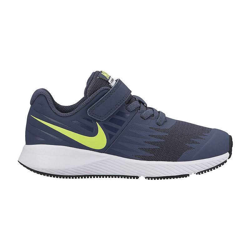 Nike Boys Star Runner (PSV) Fitness Shoes, Multicoloured (Thunder Blue/Volt/White 404), 11.5 Child UK 11.5UK