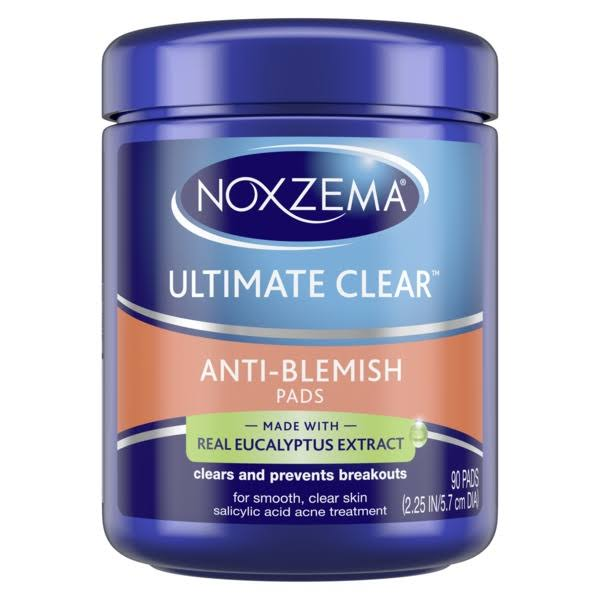 Noxzema Ultimate Clear Anti-Blemish Pads - 90ct