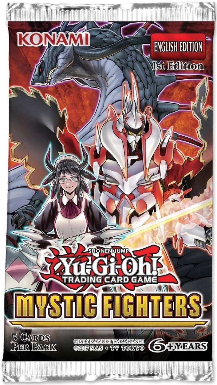 Yu-Gi-Oh Mystic Fighters Booster Pack