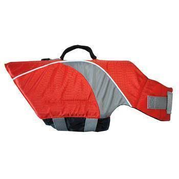 Canine Friendly Dog Lifejacket - Orange, 2X-Small