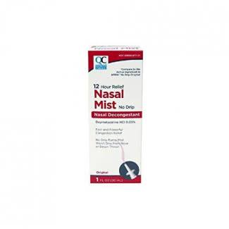 Quality Choice QC Nasal Mist Decongestant 1oz