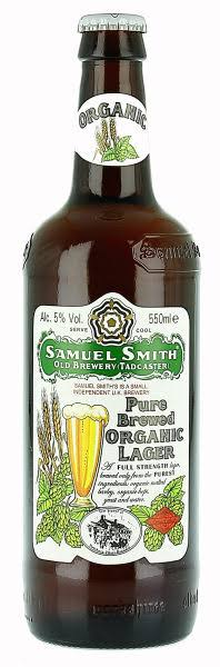 Samuel Smith Pure Brewed Organic Lager - 550ml