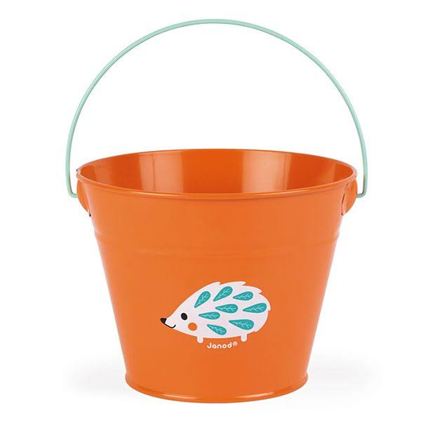 Janod Happy Garden Bucket - Orange