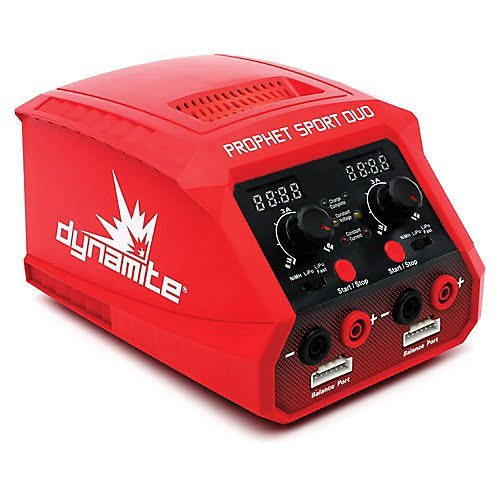 Dynamite Prophet Sport Duo Ac Battery Charger - 50W